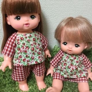 メル☆ソラン服 イチゴ柄パジャマ