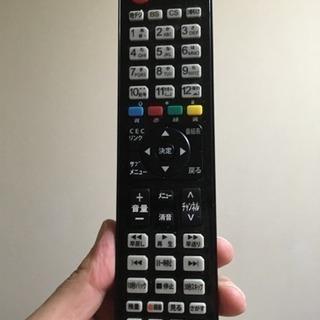 ハイセンスのテレビのリモコン