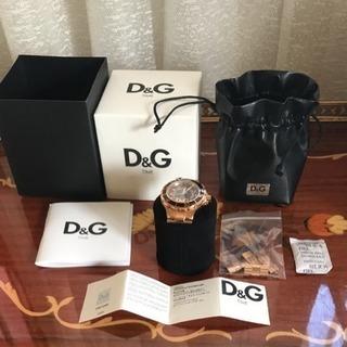 ドルチェ &ガッパーナ腕時計美品