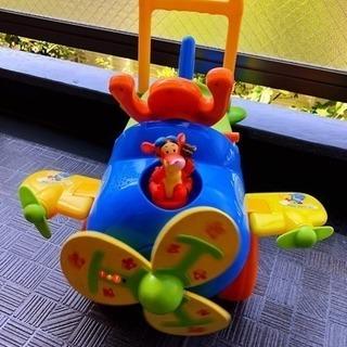 Disney ティガの飛行機