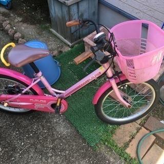 アサヒ 子供自転車 18インチ 女の子 ピンク