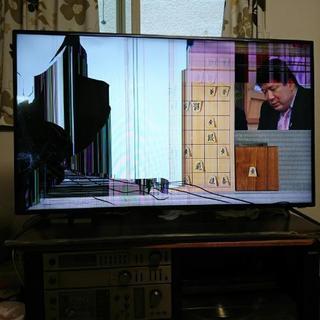ジャンク。50v型液晶テレビ