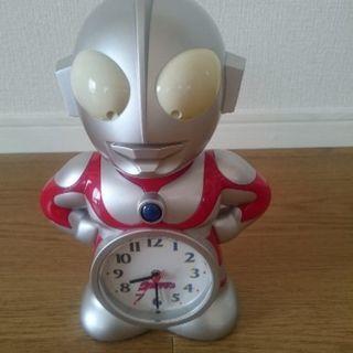 ウルトラマン目覚まし時計