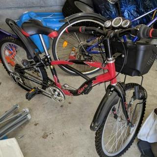 子供用自転車 赤色