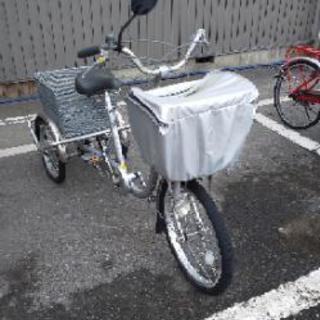 大人用三輪車。