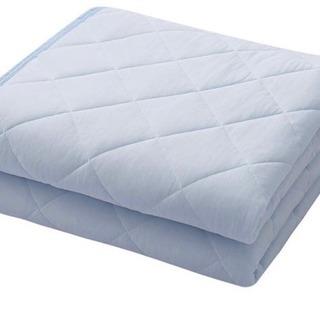 新品 ひんやり 敷きパッド 接触冷感 ベッドパッド 冷感 …