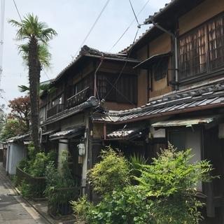 京町家。   無料賃貸。 改装必須。 #随時内覧できます。