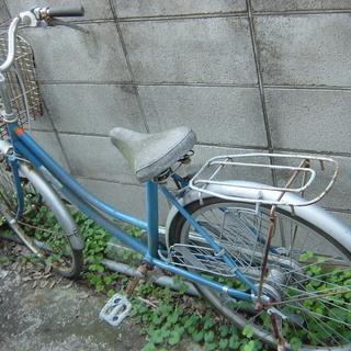 自転車  24インチ位   部品取り車