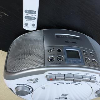 CDカセットデッキ 外部入力端子 リモコンあり