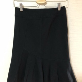 NARACAMICIE ブラック フレアスカート フリーサイズ