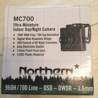 Nothern社製MC700 INDOOR, DAY/NIGHT...