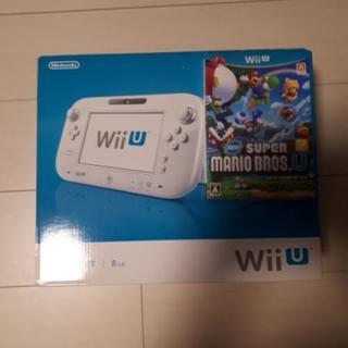 Wii U basic set 8GB ほぼ新品!