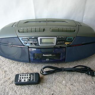 ★panasonic   RX-DT35   CD   Wカセッ...