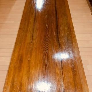 天然木ローテーブル(和洋どんなシチュエーションでも使える大きいテーブル)