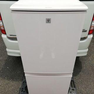 SHARP プラズマクラスター搭載 137L冷蔵庫 つけかえどっち...