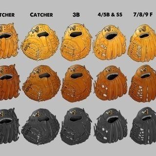 野球ソフトボールのグローブ、グラブ紐修理します⚾️