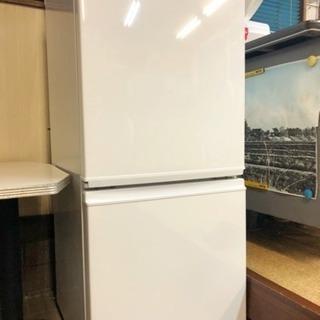 シャープ冷蔵庫 SHARP SJ-D14A-W 2015年製 137L