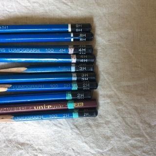 夏期講習に!デッサン用鉛筆セット 26本 ホルダー3本付き