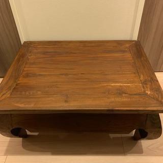 ☆値下げ☆インドネシア バリ島 アジアン ローテーブル