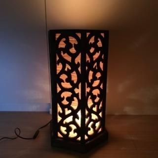 ☆値下げ☆インドネシア バリ島 アジアン雑貨 間接照明のライト