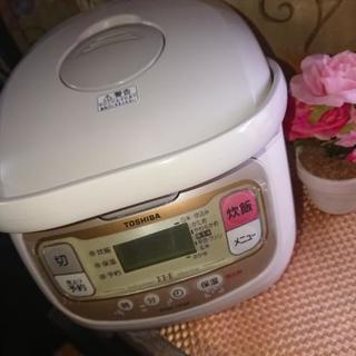 ◆美品❗TOSHIBA 5.5合  炊飯器◆