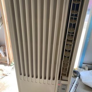 ハイアール 窓用エアコン  JAー16K 2012年 枠 リモコン付き