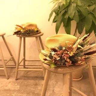 植物の帽子WORKSHOP