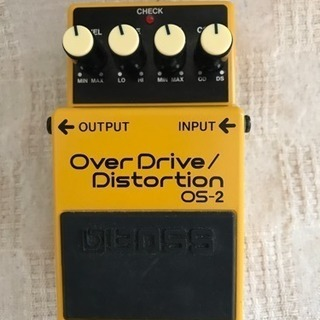 BOSS Over Drive/Distirtion OS-2
