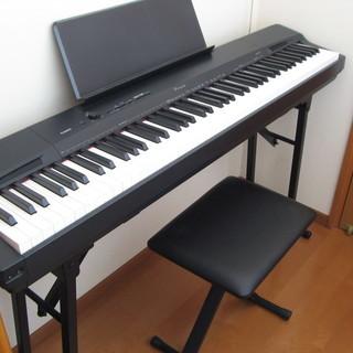 カシオ 電子ピアノ PX-160  2018年製 新品同様 椅子、...