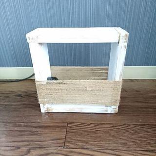 木製フロアライト あんどん 照明 ビンテージ風 インテリア