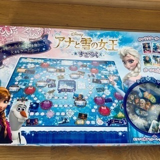 ★アナと雪の女王 すごろく ボードゲーム  カード集め
