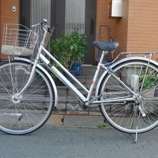中古自転車販売 天童市 LEDオートライト 27インチ 3段変速 ...