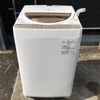 トラック貸出可 TOSHIBA 6.0kg 洗濯機 2017年制 ...