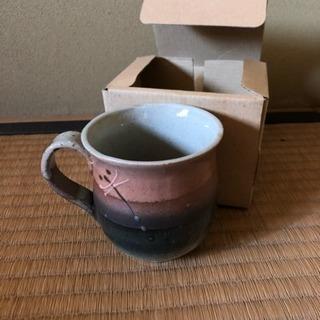 マグカップ しぶめです 1つは箱ありません。