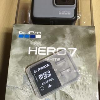 GoPro7 White 32G SDカード 付属キットセット