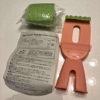 ラストプライス!フェリシモ☆隙間掃除用スポンジ☆スペア付き