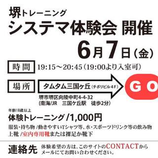 システマ南大阪・体験会開催
