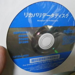 無償・富士通リカバリD5290/D3290/D1220用/XP/...