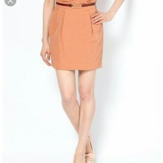 【LilyBrown】ベルト付きコクーンスカート
