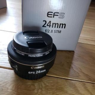 取引中/Canon EF-S 24mm F/2.8 STM(美品...