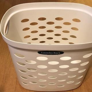 プラスチック 洗濯かご 約40L