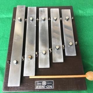 放送用 鉄琴楽器