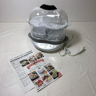 未使用★ヘルシースチーマー  蒸し調理器の画像