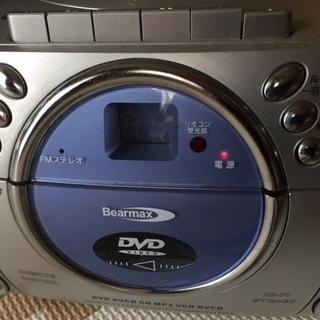 【ジャンク】DVD、CD、ラジオ、カセット、よくばりレコーダー・...