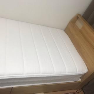 ニトリ 収納付きベッド  マットレス