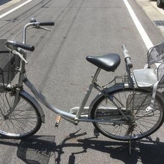 自転車24インチ [5000円以下ジャンク]