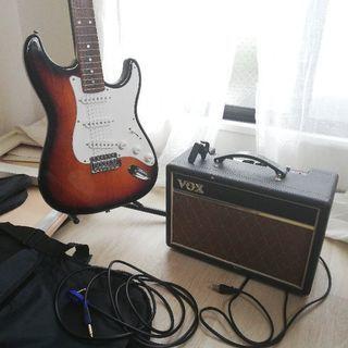 ギター等セット・アンプ・シールド・チューナー・スタンド・ケース