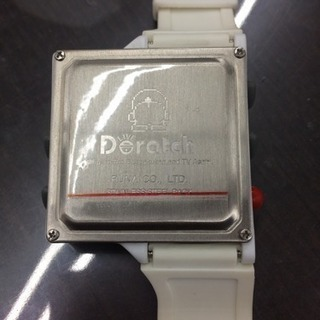 【値下げしました】ドラえもん 時計 Dratch ドラッチ 腕時計 電池式 クォーツ - 福岡市