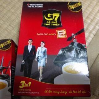 ベトナムのコーヒーg7 18袋