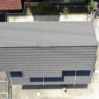 屋根などのドローンによる空撮での点検が出来ます